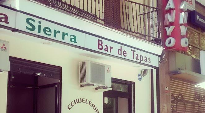 Bar Sierra – Madrid